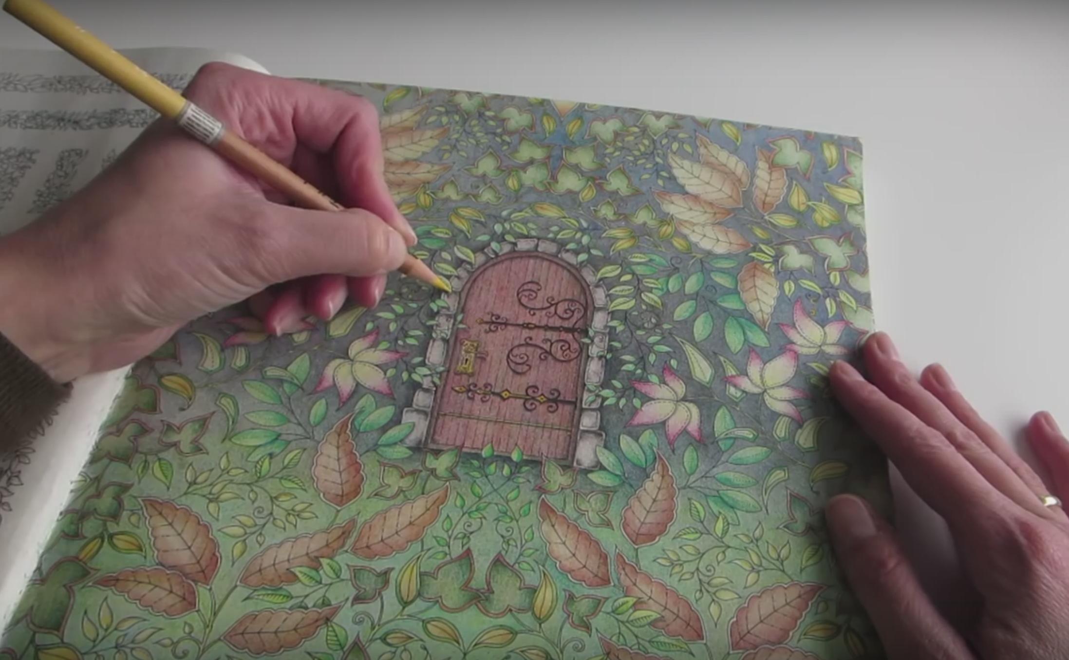 The secret garden coloring book review - The Secret Garden Coloring Book Review 8