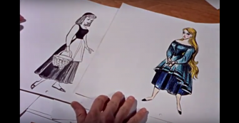 "#TBT: A Mini-Doc on the Disney Animators Behind ""Sleeping Beauty"""