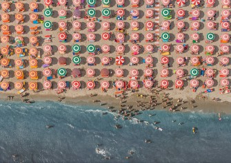 A Surreal Summer High Above Italian Beaches
