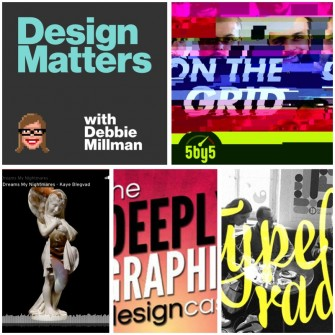 5 Graphic Design Podcasts You'll Love