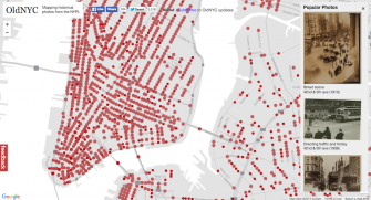 Explore Vintage Photos of New York, Plotted on Google Maps