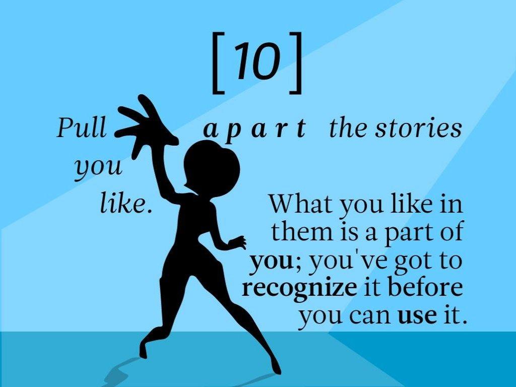 Pixar Storytelling Rules 10
