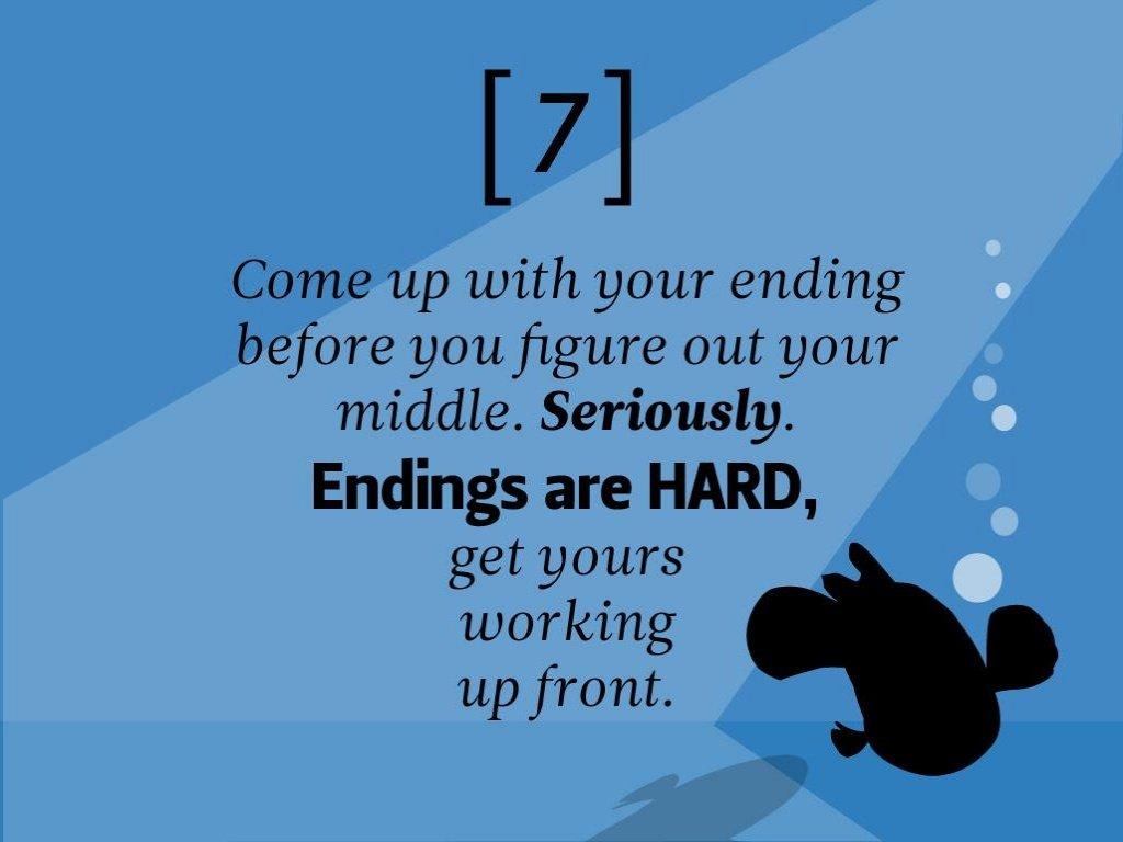 Pixar Storytelling Rules 7