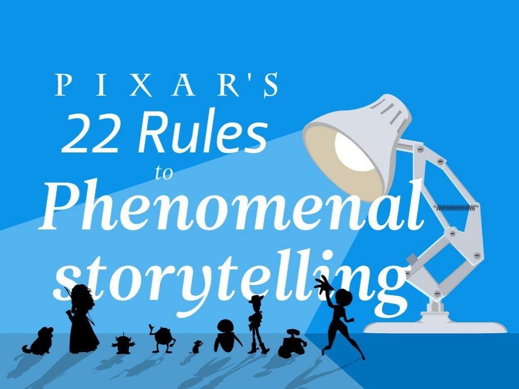 Pixar Storytelling Rules featured