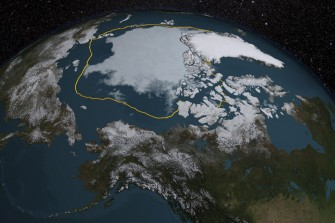 Not a Pretty Picture: Map Visualizes Years of Shrinking Sea Ice in the Arctic