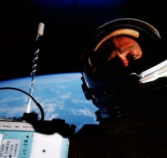 #TBT: Buzz Aldrin Takes the First Space Selfie