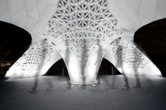 Beijing Design Week Makes History With the World's Largest 3D Printed Structure