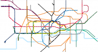 This Interactive London Tube Map Combines Stations with Rent Prices