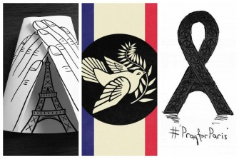 11 Ways Artists Sent Their Love to Paris
