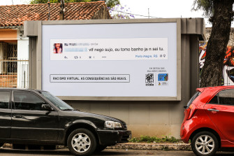 Brazilians Put Racist Online Comments on Billboards—In the Commenter's Neighborhood