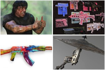 4 Beautiful Ways People Are Turning Guns Into Art
