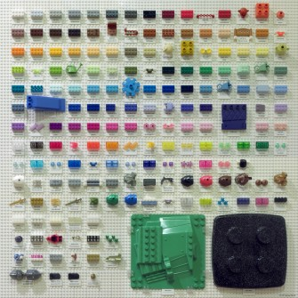 Here's Every Single LEGO Color In One Epic Chart