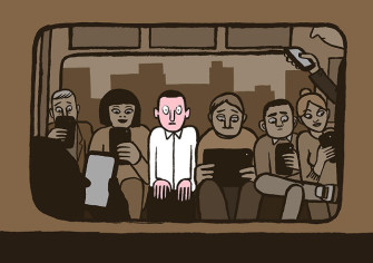 These Illustrations on Technology Addiction Are Way Too True