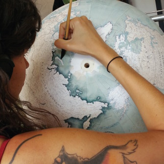 One of the Last Hand-Made Globe Makers Puts the World at Your Fingertips