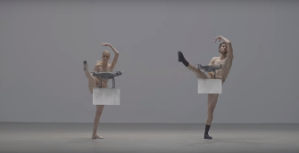 Drones Cover Naked Dancers in This Clever Clothing Ad