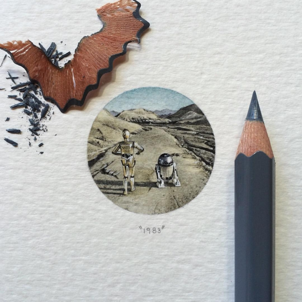 What Are These? Star Wars Paintings for Ants?