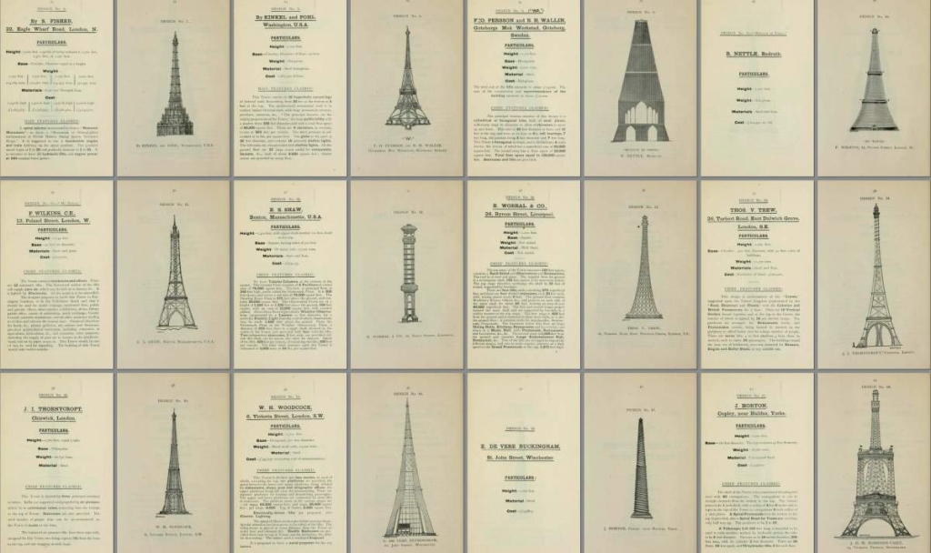 What if London Had Its Own Eiffel Tower? Designs from an 1890 Competition