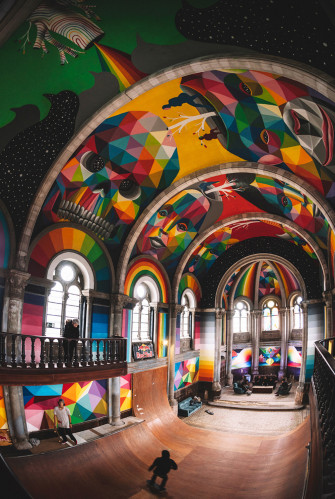 This 100-Year-Old Church Was Transformed into Skater Heaven