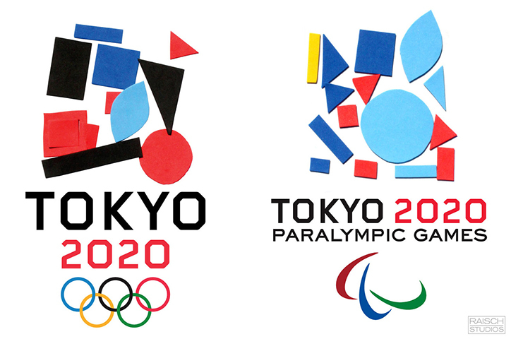 Preschoolers Design Logos for the Tokyo Olympics (and They're Surprisingly Great)