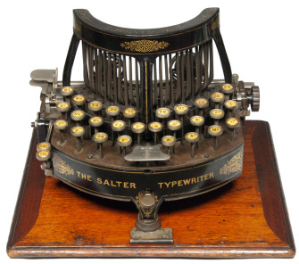 Bizarre and Beautiful Typewriters from Before Their Design Was Standardized