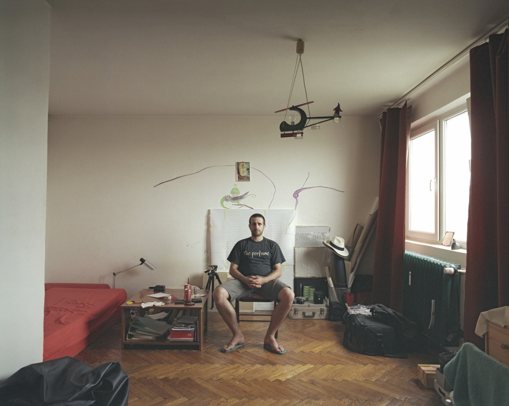 Photographer Captures People Living in 10 Floors of Identical Apartments
