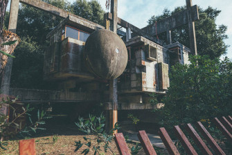 Exploring the Ruins of Rome's Brutalist 'Casa Sperimentale'