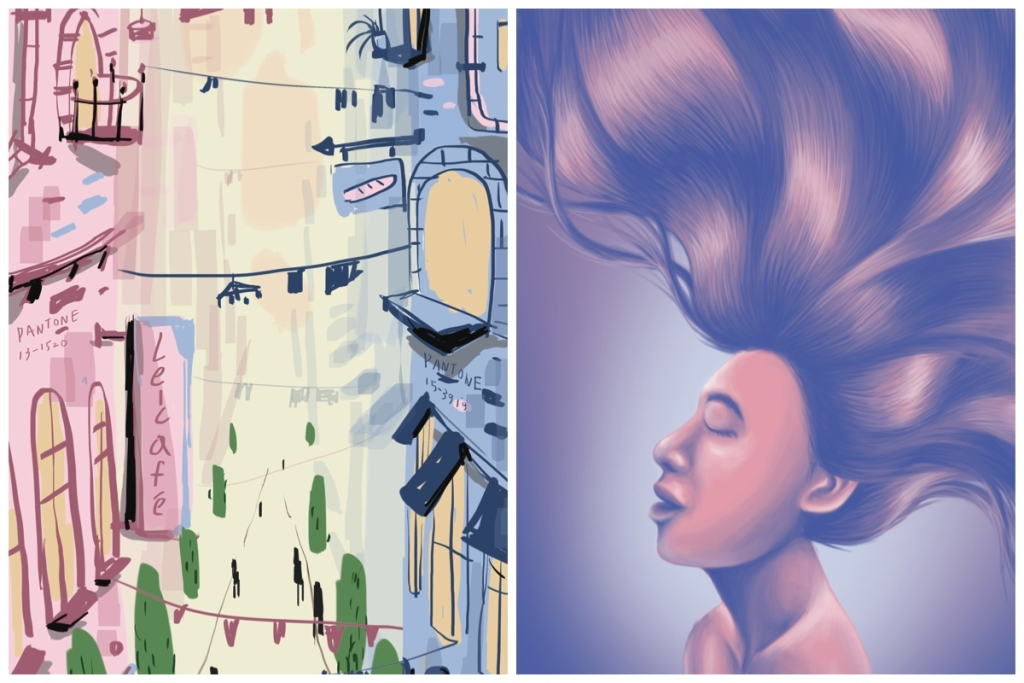 Awesome Art Inspired by Pantone's Colors of 2016