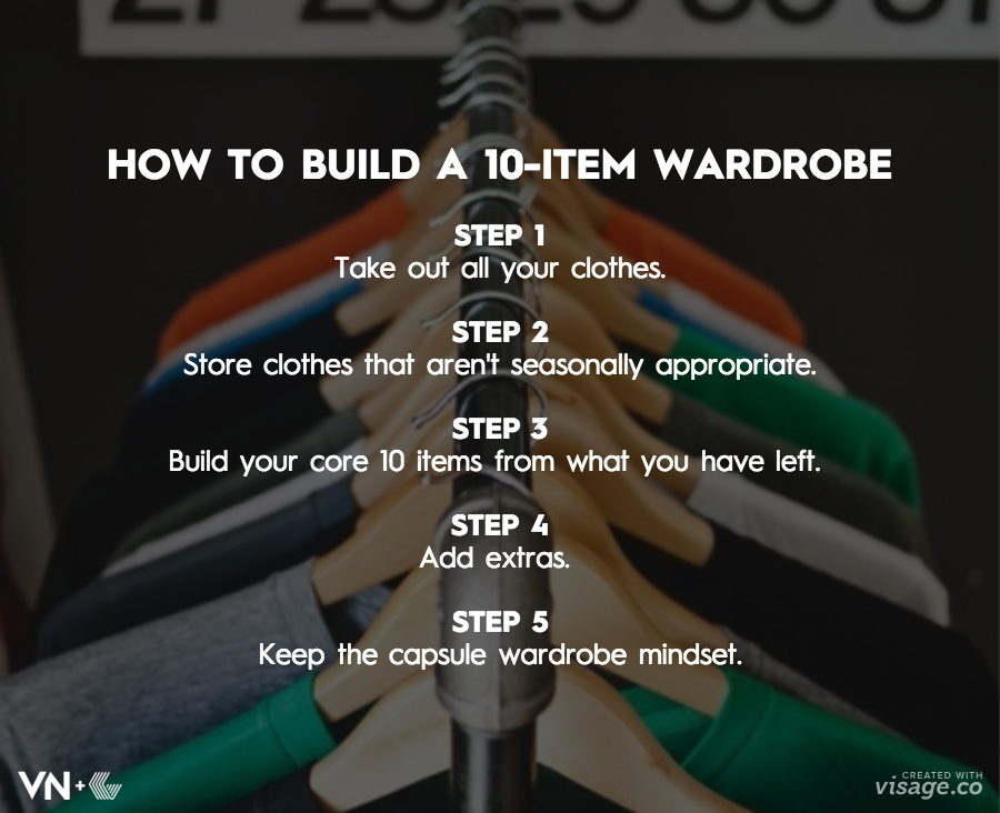 How to Build a 10-item wardrobe