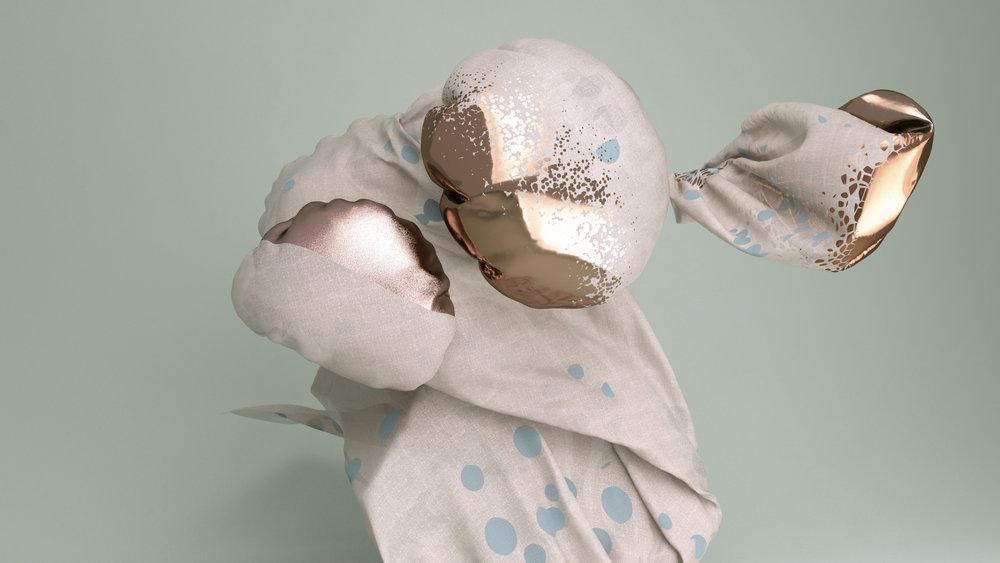 Watch These Fabrics Dance Like Bizarre Alien Creatures
