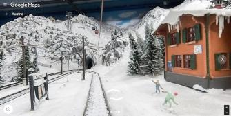 "Tour the World's Largest Model Railway on Google ""Mini"" Street View"