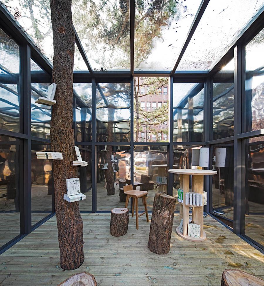 'Mirage Pavilion' interior.