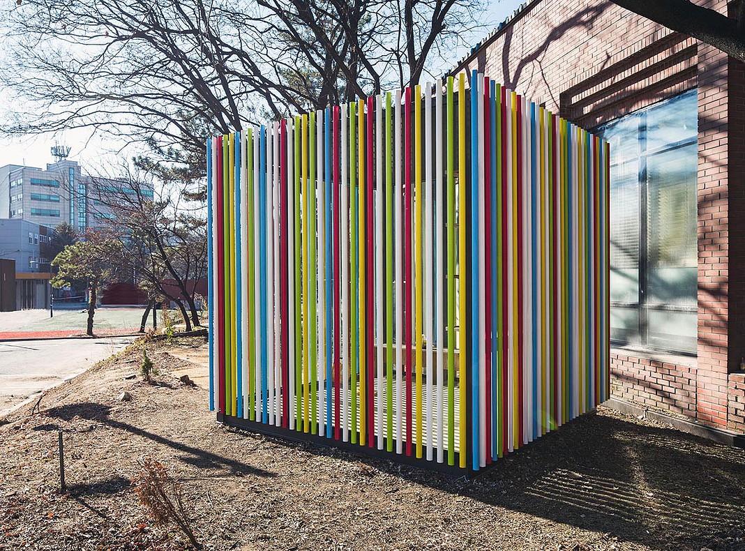 'Pipe' pavilion.