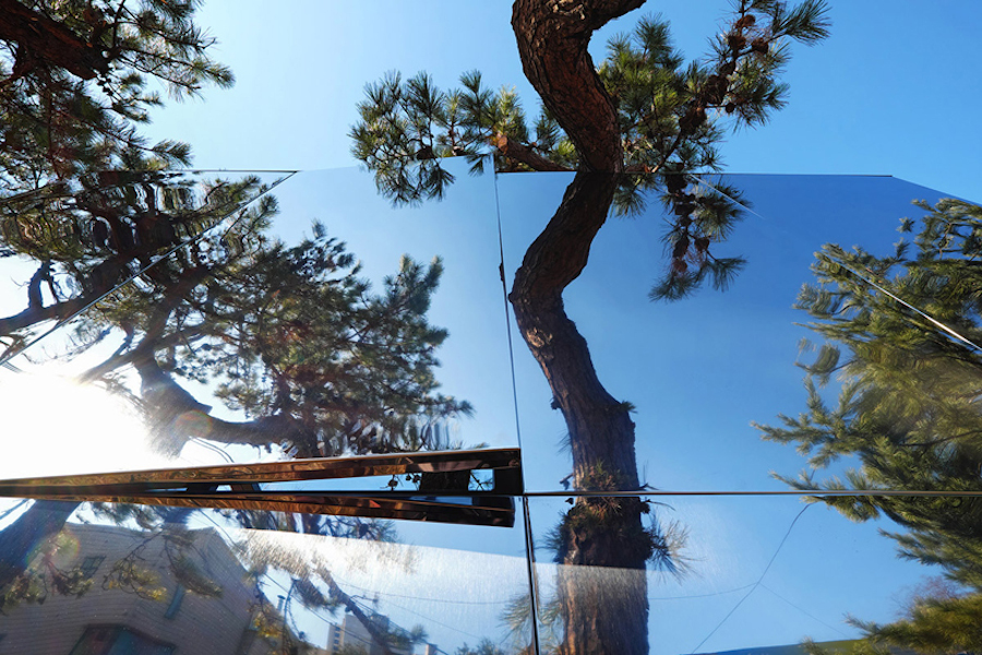 'Mirage Pavilion' reflection.