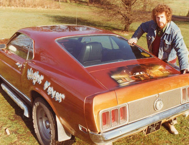 1970s People Posing Next to Their Cars 16