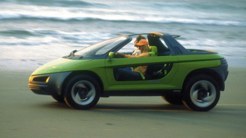 The Most 80s Concept Car You Will Ever See Came With Two