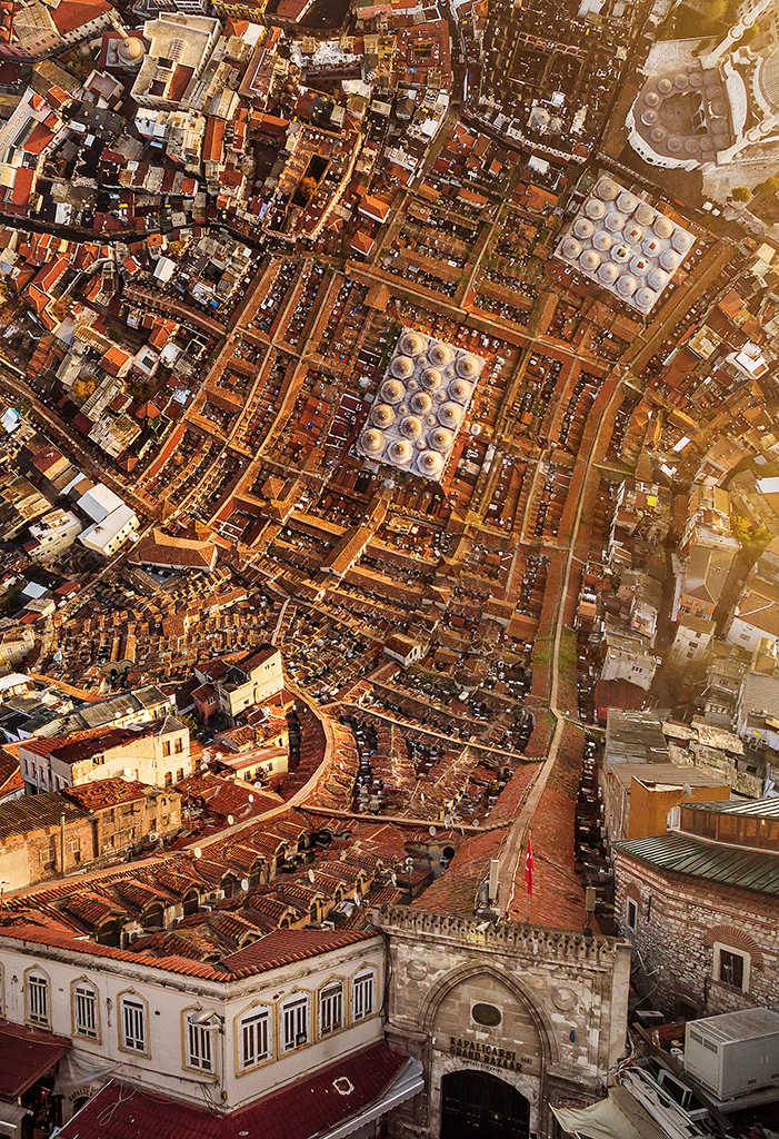 Mind Bending Aerial Photos Make Istanbul Look Like 'Inception'