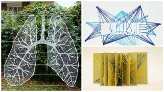 We Bet You've Never Seen String Art Like This Before