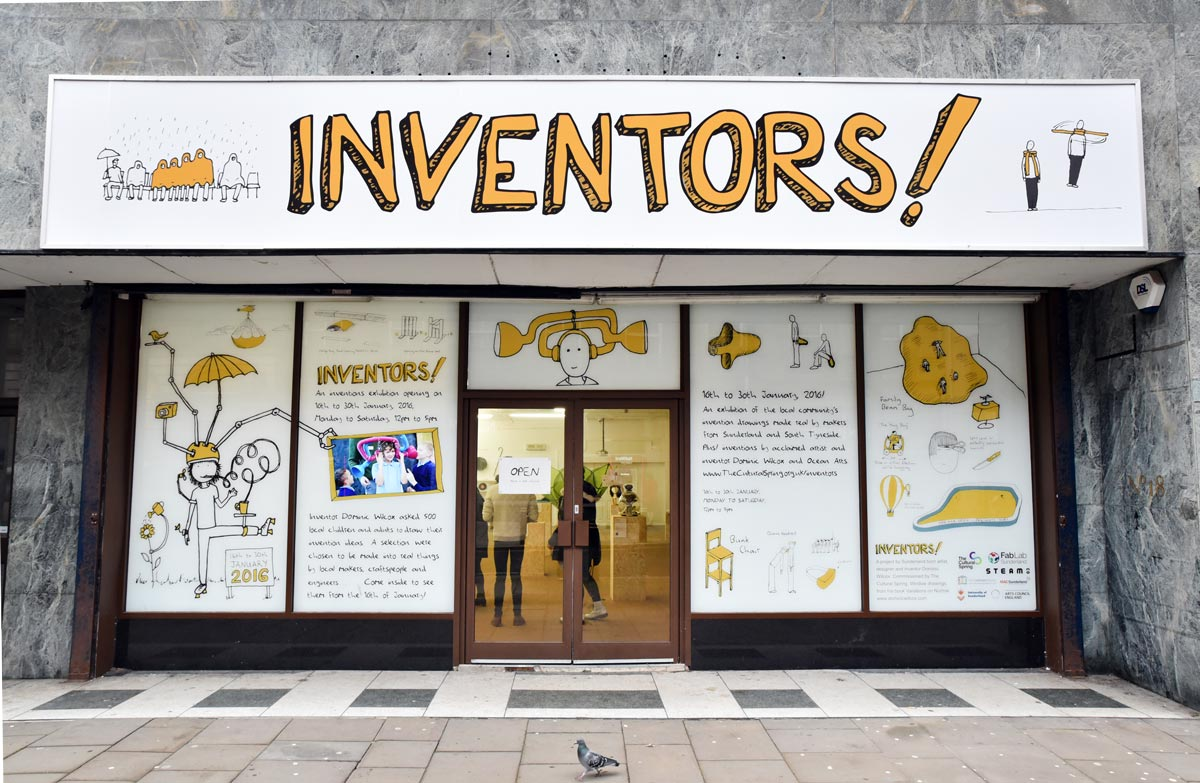 inventors project shop