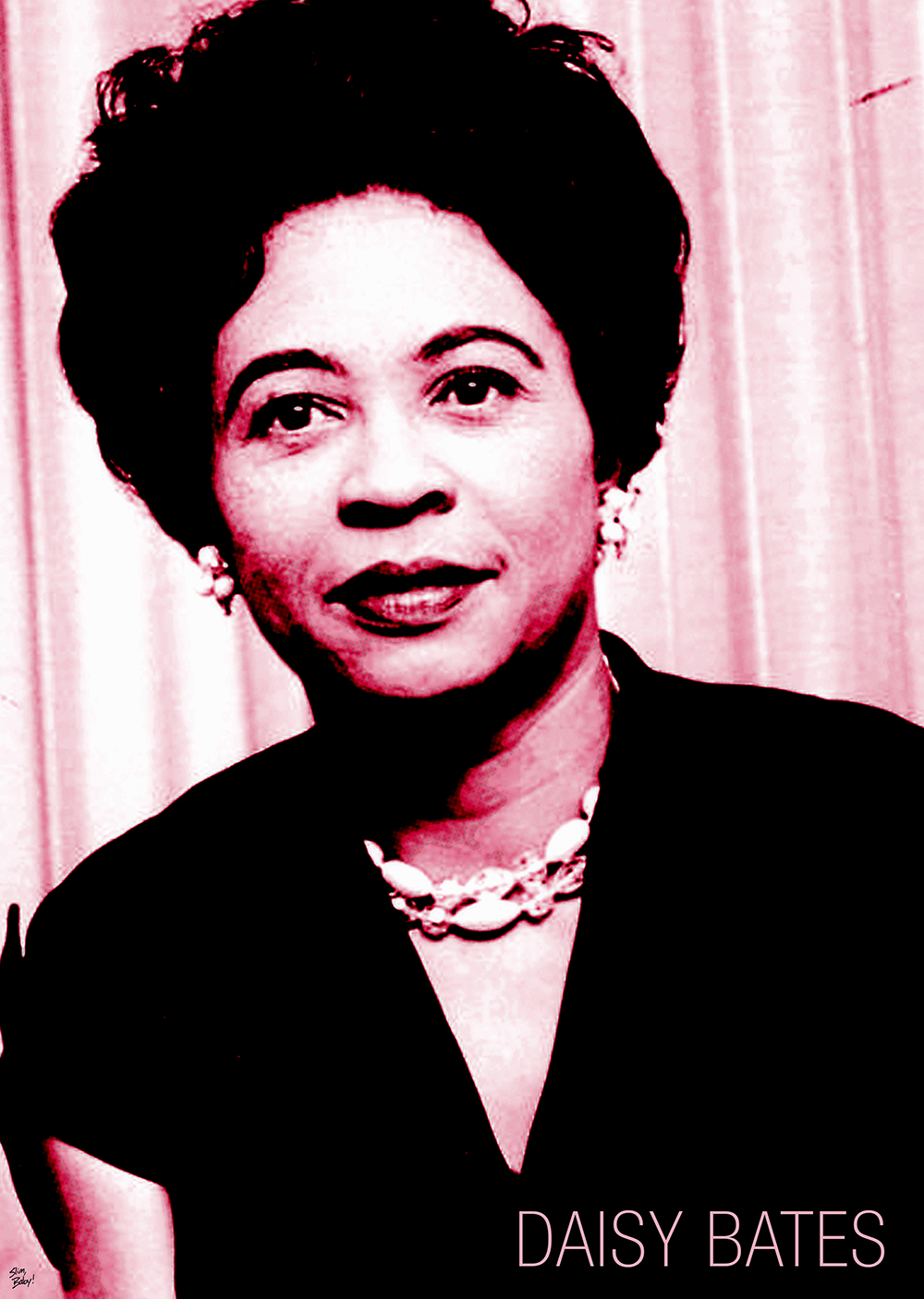 daisy bates Daisy lee gaston bates, a civil rights advocate, newspaper publisher, and president of the arkansas chapter of the national association for the advancement of colored people (naacp), advised the nine students who desegregated central high school in little rock, arkansas, in 1957.