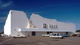 The Incredible Façades of BEST Shopping Centers Mixed Art and Architecture