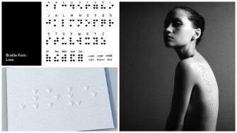 A Designer Turned Braille Into Beautiful Fonts for the Blind