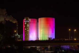 These Dazzling Rainbow Towers Change Colors to Reflect Solar Activity