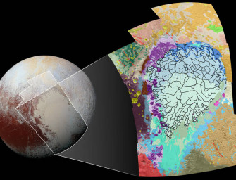 "NASA Just Released This Beautiful Map of Pluto's ""Heart"""