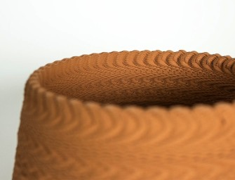 Sounds into Ceramics: 3D Printer Uses Sonic Vibrations to Make Patterns in Clay