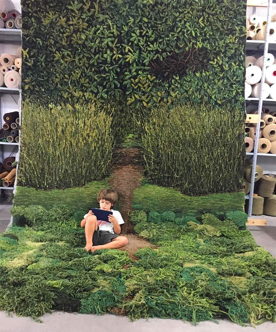Mossy Rugs, By Alexandra Kehayoglou Mossy Rugs, By Alexandra Kehayoglou