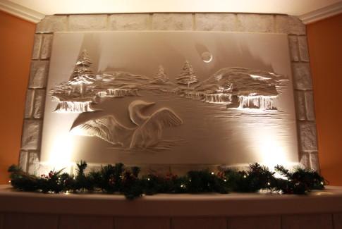 Drywall Art, by Bernie Mitchell