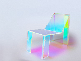 This Trippy Chair is an Art Piece Inspired By '90s House Music
