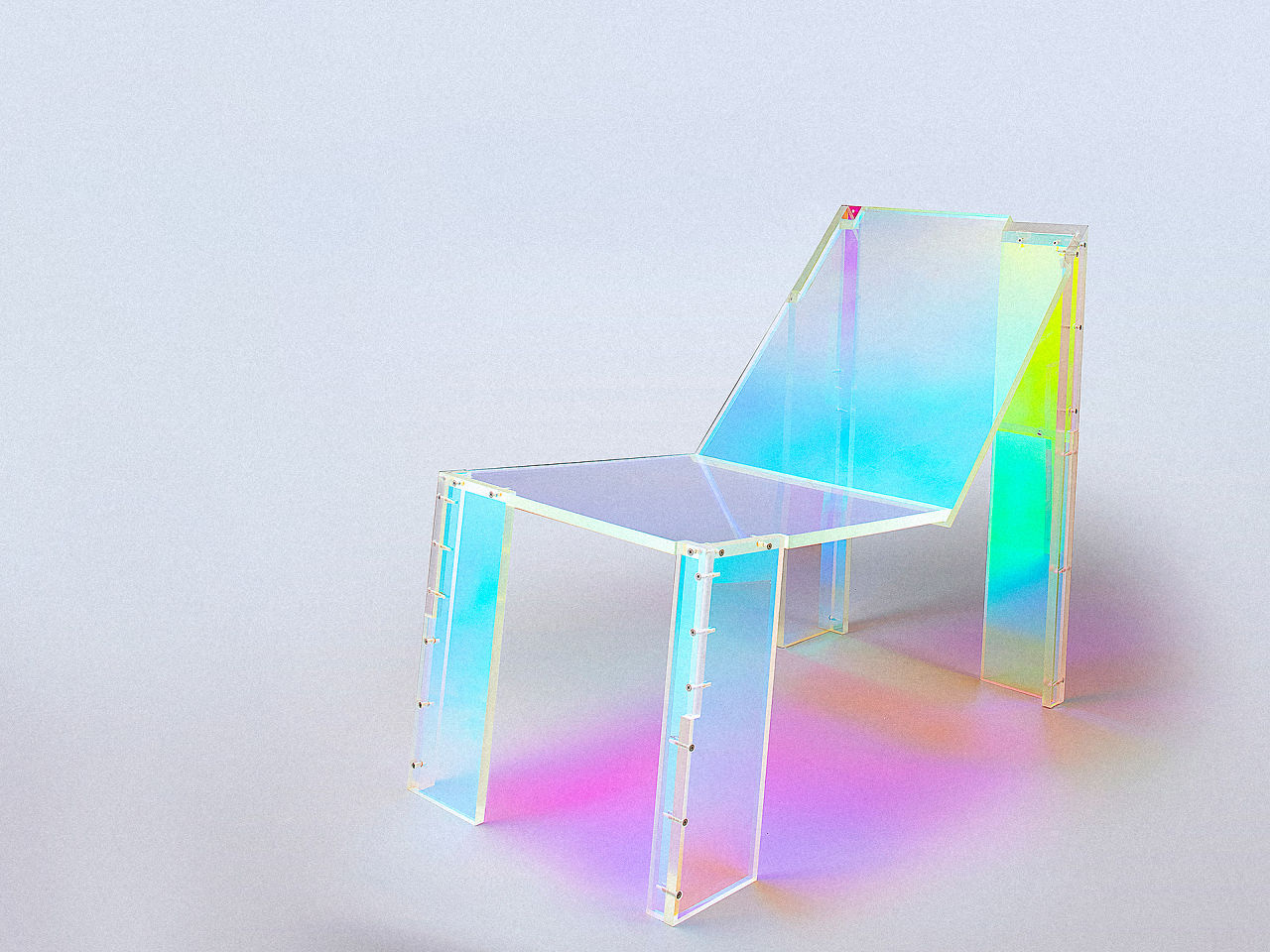 This Trippy Chair Is An Art Piece Inspired By 90s House Music