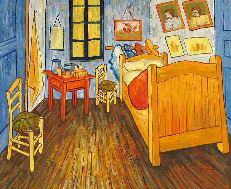 The Bedroom, by Vincent Van Gogh