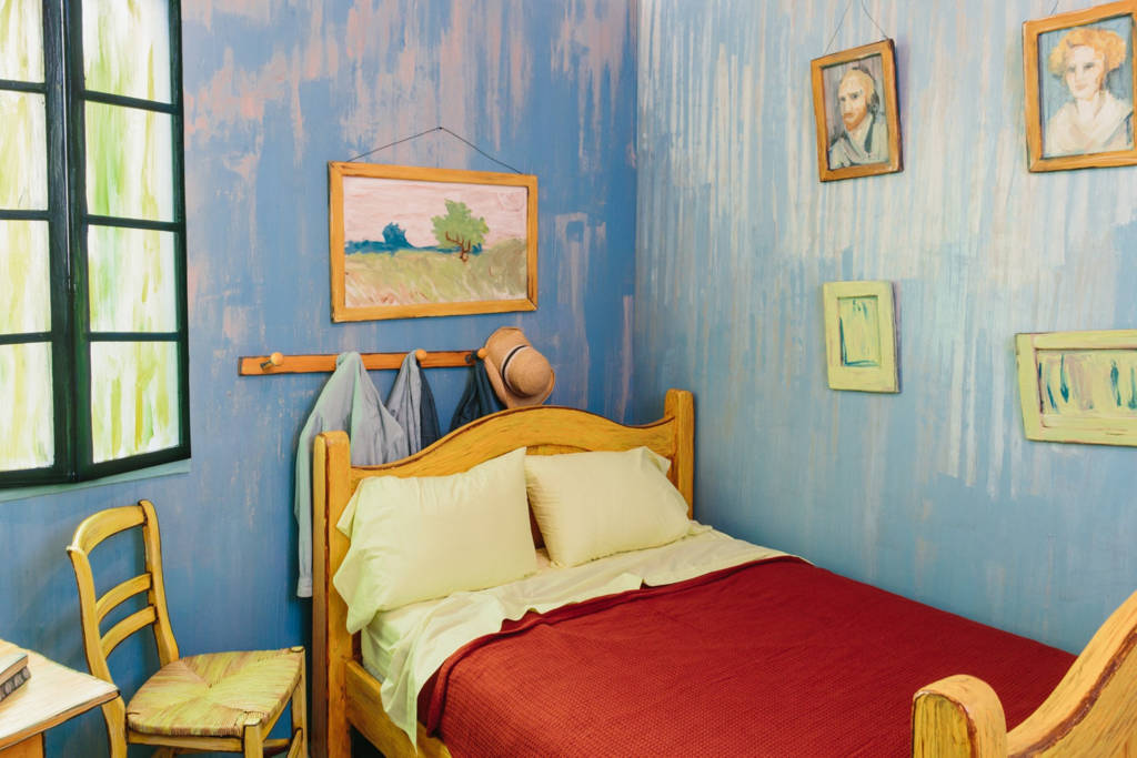 The Bedroom, by Vincent Van Gogh and the Art Institute of Chicago
